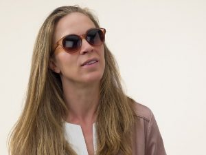 Kate Caramel - Zonnebril met leesvenster | Babsee